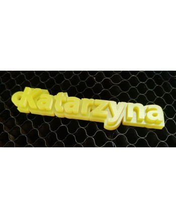 Name 3D Keyring