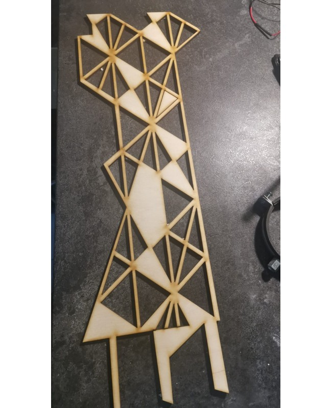 Dog hex - flower ladder